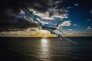 atlantic-plane van H.m. Soetens