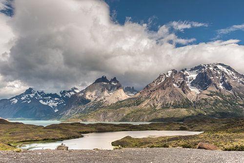 Meer in Torres del Paine van