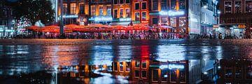 Terrasse Grote Markt, Groningen von Harmen van der Vaart