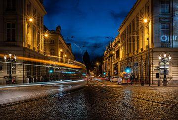 Rue Royale: Die Straßenbahn verpasst! von Werner Lerooy