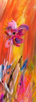 Blume Frühlingsfroh von Claudia Gründler