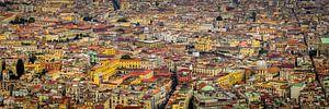 Napels, uitzicht vanuit Castel Sant 'Elmo