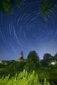 Star-trail Walburgiskerk