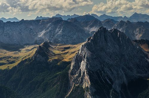 Dolomites at Pordoi pass von Bas Rutgers