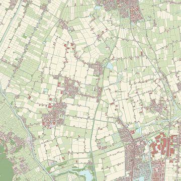 Kaart van Harenkarspel