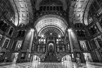 Antwerpener Hauptbahnhof von Ronny Struyf