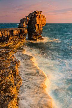 Pulpit Rock, Dorset, England. sur