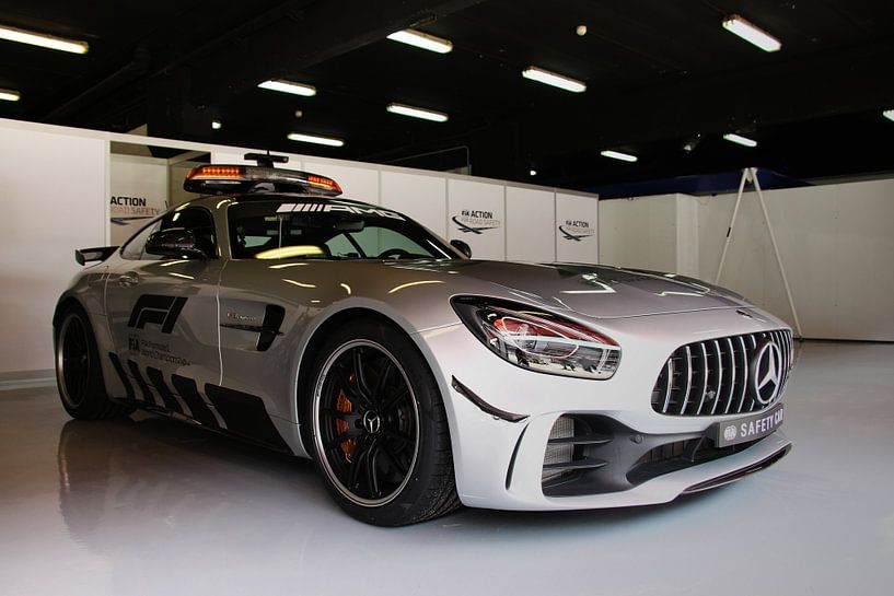 F1 safety car 2018 - Mercedes-AMG GT R van Charrel Jalving