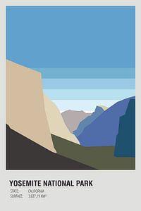Verenigde Staten - Yosemite national park van Walljar