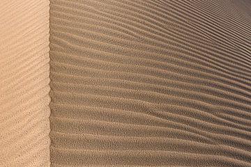 Détail d'une dune de sable dans le Great Salt Desert | Iran
