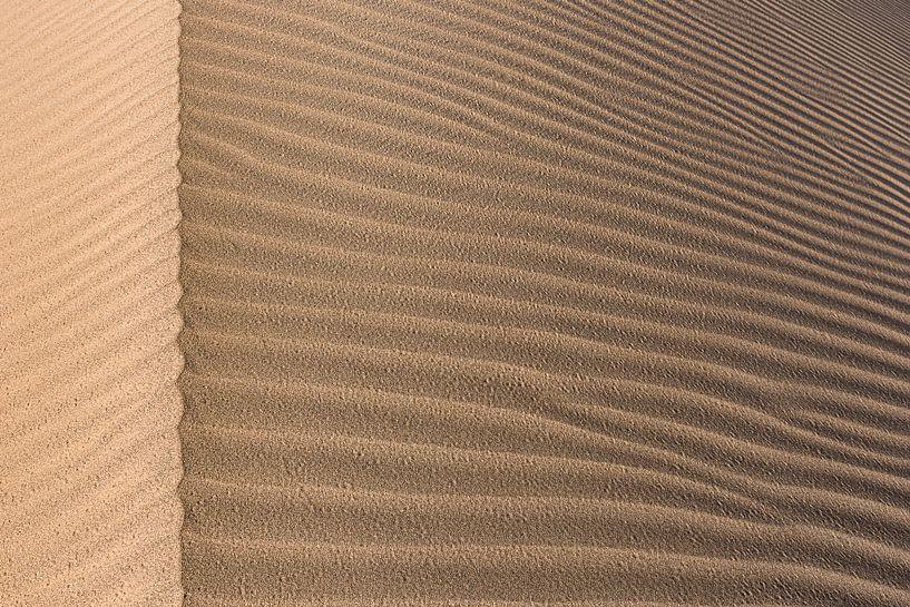 Detail van een zandduin in de Grote Zoutwoestijn | Iran van Photolovers reisfotografie