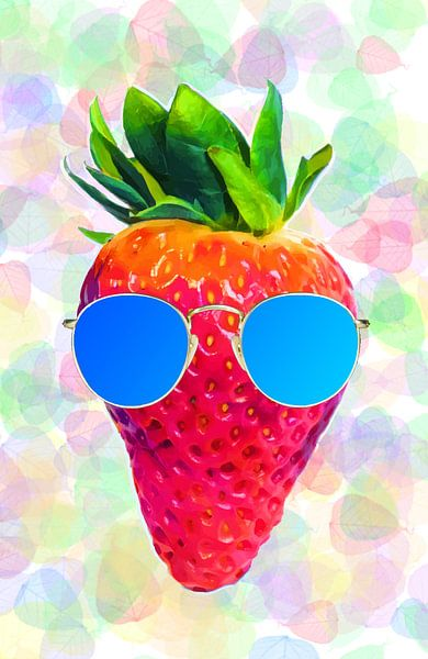 Cool Strawberry sur Samuel Chocron