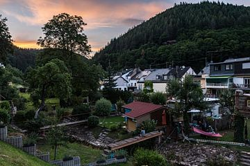 Sonnenuntergang über Kordel von Werner Lerooy