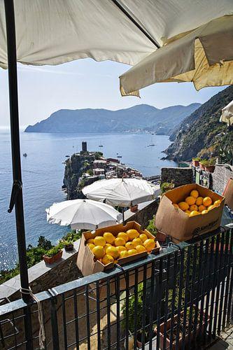 Vernazza, Italie van