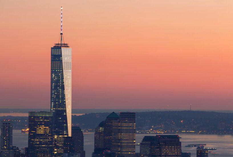 ONE WTC ONE (freedom tower) New York City van Marcel Kerdijk