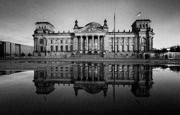 Berlin Reichstagsgebäude von Frank Herrmann
