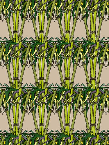 Décor Bambou sur