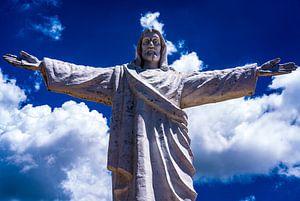 Cristo Blanco in Cusco, Peru van