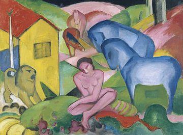 Der Traum, Franz Marc