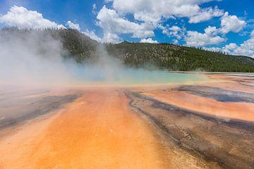 Yellowstone Geyser 004 von Jan Peter Mulder