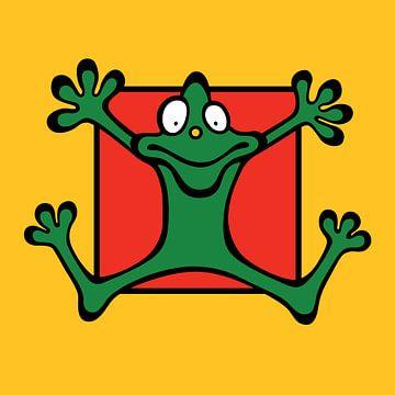 kikker, frog von karen vleugel