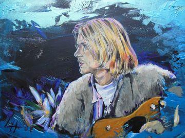 Kurt Cobain - Blue von Lucia Hoogervorst