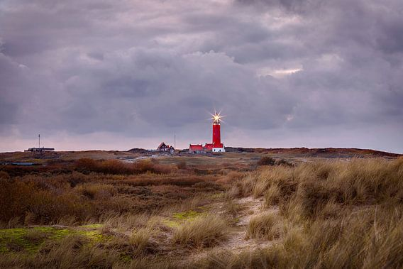 A stromy day in Texel