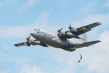 Lockheed C-130 Hercules transportvliegtuig van Wim Stolwerk