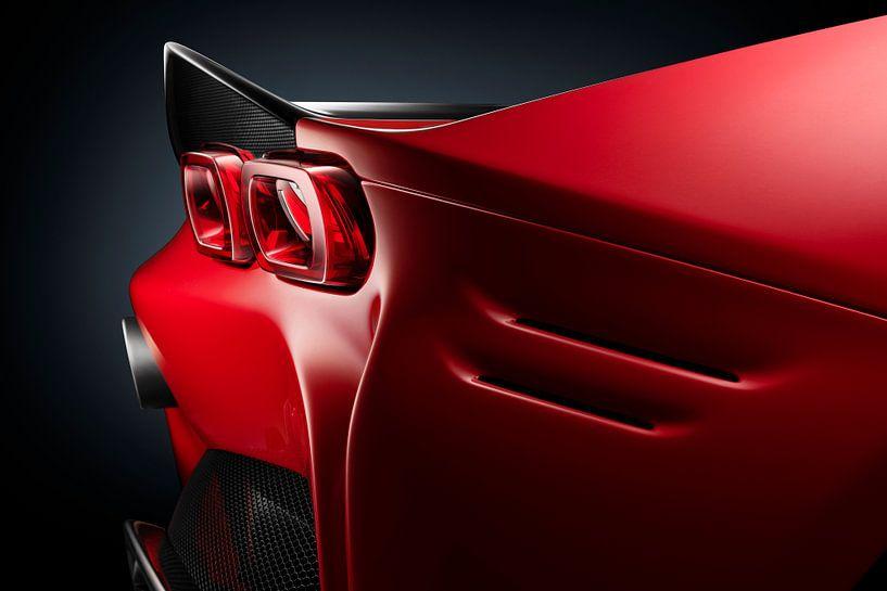 Ferrari SF90 Stradale achterlicht van Thomas Boudewijn