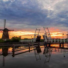 Kinderdijk Netherlands van Dennis Bliek