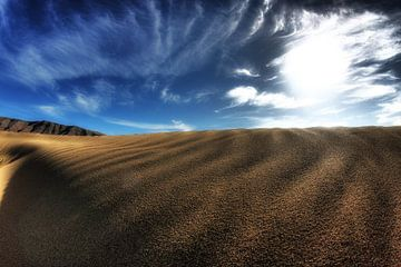 Desert in Bleu van Frank Kanters
