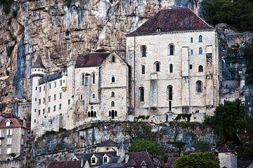 Mittelalterliche Fassade in Rocamadour von Silva Wischeropp