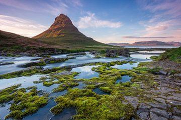 Kirkjufell revisited- After sunset van Steven Driesen