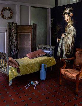 Kundenfoto: Saskia als Flora - Rembrandt van Rijn