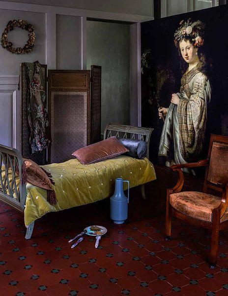 Photo de nos clients: Saskia als Flora, Rembrandt, sur medium_12