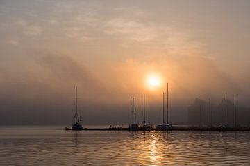 Sunset in Rostock van Rico Ködder