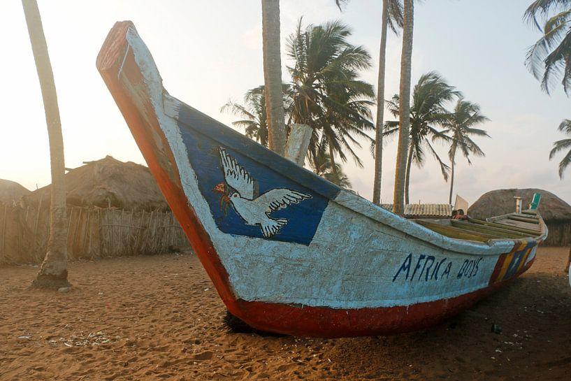 Vissersboot van Cora Unk