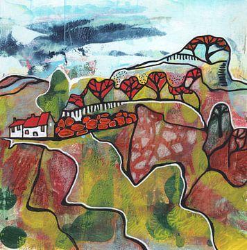 Saisonale Landschaft - Herbst von Ariadna de Raadt