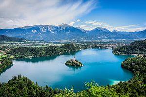 Lake Bled von Nick Chesnaye