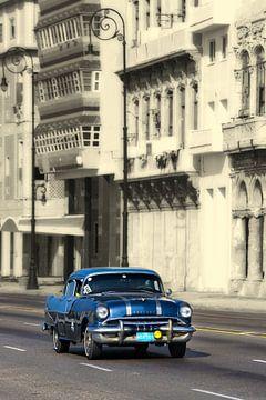 Pontiac Taxi in Havanna, Kuba von Henk Meijer Photography