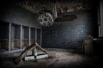 Salle d'opération abandonnée sur