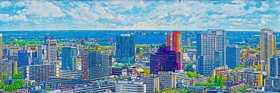 Rotterdam: Skyline-Panorama