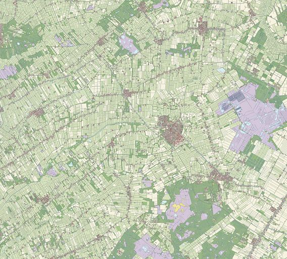 Kaart vanOoststellingwerf van Rebel Ontwerp