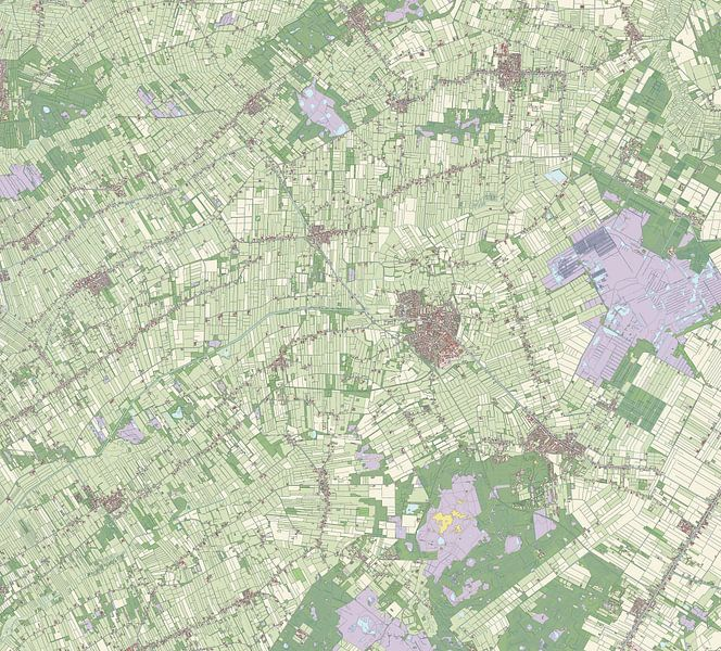 Kaart vanOoststellingwerf