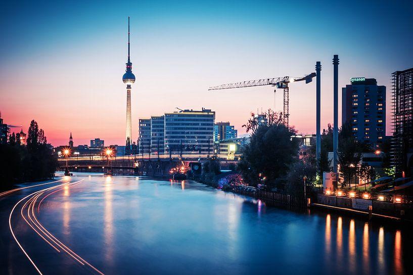Berlin – Skyline van Alexander Voss