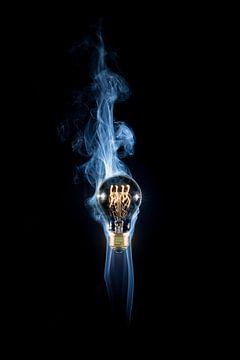 Rokkende lamp van Sander van Kampen