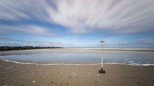 Schep aan de Texelse kust