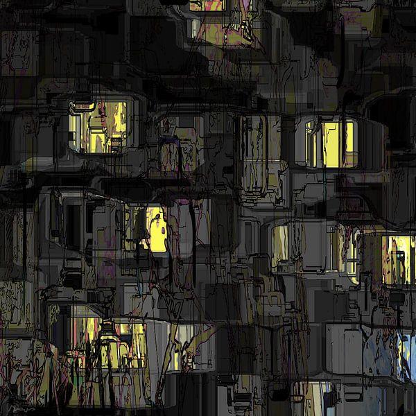 Stadtkunst, Nachtsicht. von SydWyn Art