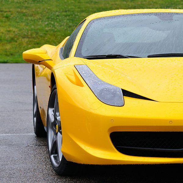 Ferrari 458 detail van Sjoerd van der Wal