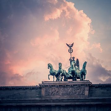 Berlin – Brandenburger Tor / Quadriga von Alexander Voss